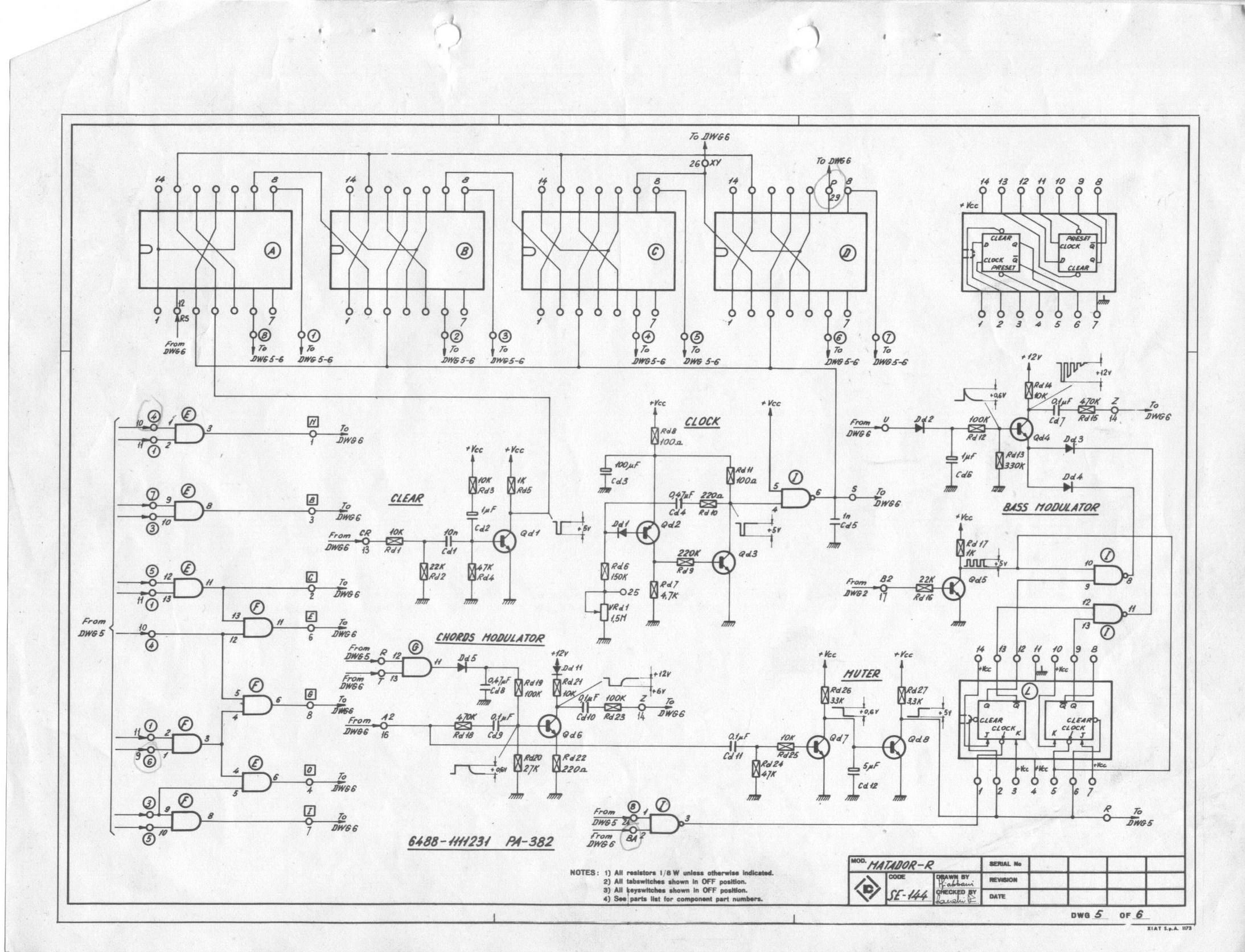 Matador06 farfisa matador r electronic organ schematic diagrams farfisa org farfisa wiring diagram at panicattacktreatment.co